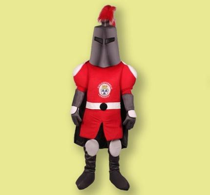 Ritter Kostüm Maskottchen Herstellung