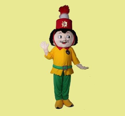 Tschä-Hoile-Karneval-Kostüme-Maskottchen
